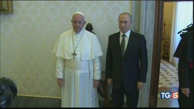 """""""Eccellenti rapporti"""", Putin a Roma"""