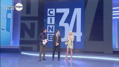 """Nuovo canale gratuito """"Cine 34"""""""