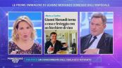 Gianni Morandi: le prime immagini dopo la dimissione dall'ospedale
