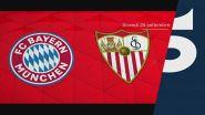 Supercoppa Europea, giovedì 24 settembre su Canale 5