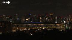 Tokyo saluta le Paralimpiadi, fuochi d'artificio allo stadio