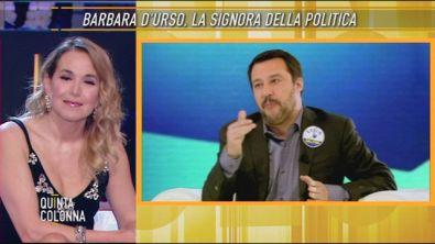 Barbara D'Urso: la signora della politica