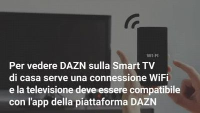 Su quali Smart TV si vede DAZN