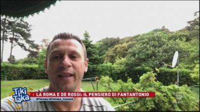 De Rossi, Cassano attacca Pallotta