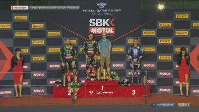 Sbk, un podio britannico