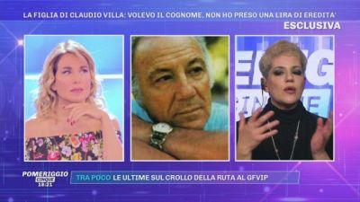 La figlia di Claudio Villa: ''Volevo il cognome, non ho preso una lira di eredità''