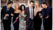 'Friends': i protagonisti sul set per le riprese della reunion