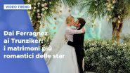 Dai Ferragnez ai Trunziker: i 10 matrimoni più romantici delle star