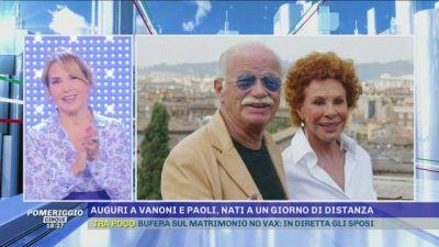 Gino Paoli e Ornella Vanoni: nati a un giorno di distanza