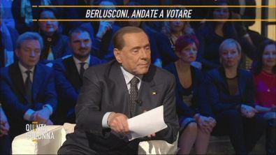 Sivio Berlusconi: andate a votare