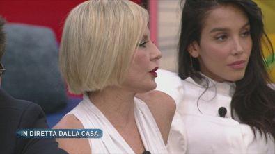 Lo scontro a distanza tra Antonella Elia e Fernanda Lessa