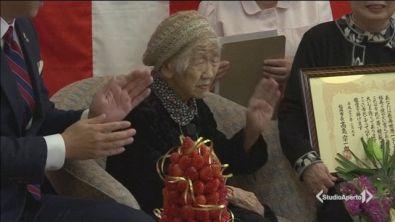 Una nonna da guinness