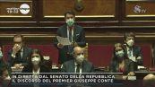 Giuseppe Conte in Senato: la politica estera