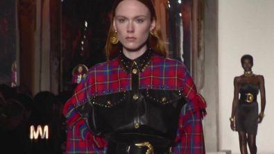 Jo Squillo: Versace la collezione per l'inverno 2018-19