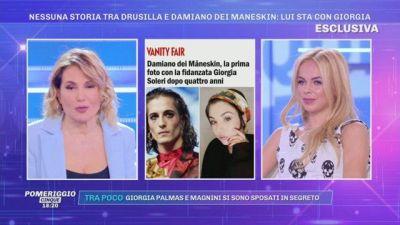 Nessuna storia tra Drusilla Gucci e Damiano dei Maneskin
