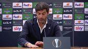"""Roma-Ajax, Fonseca: """"E' stato difficile, ora vogliamo la finale"""""""