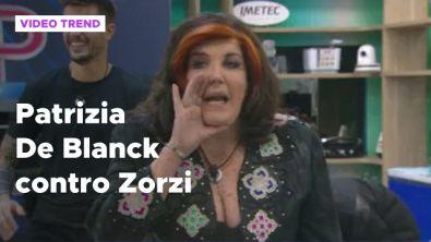 Grande Fratello Vip, Patrizia De Blanck contro Tommaso Zorzi