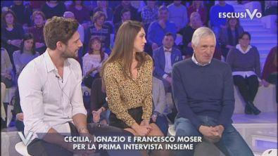 Francesco Moser ed il figlio ignazio