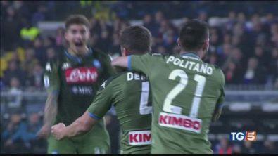 Posticipo di Serie A tra Samp e Napoli