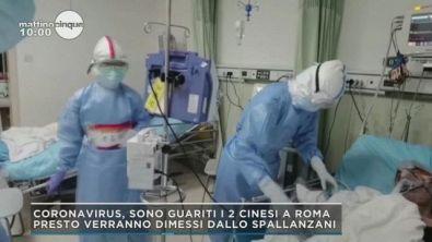 Coronavirus: guariti i due cinesi a Roma