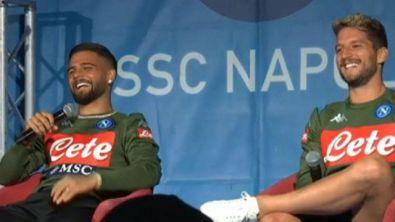 """Insigne, domanda a sorpresa: """"Sono Carlo..."""""""