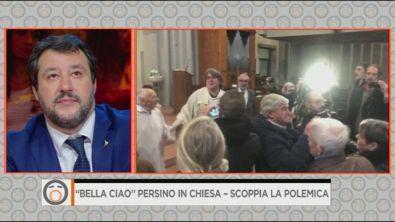 """""""Bella ciao"""" persino in chiesa - scoppia la polemica"""