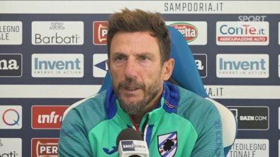 """Sampdoria, Di Francesco: """"L'atteggiamento non va cambiato"""""""