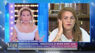 """""""Non ce n'è Covid"""" - L'intervista integrale di Angela a """"Live"""""""