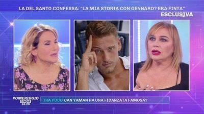 Lory Del Santo confessa: ''La mia storia con Gennaro? Era finta''