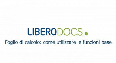 Libero Docs - Foglio di calcolo: come utilizzare le funzioni base