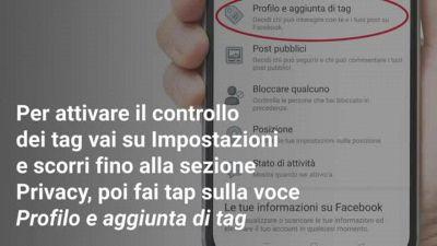 Come non farsi taggare su Facebook