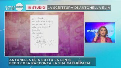 GF Vip: la scrittura di Antonella Elia