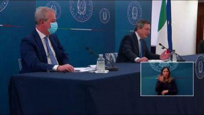 Draghi, vaccini: non ho dubbi che gli obiettivi vengano raggiunti