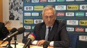 """Salernitana in Serie A, Gravina: """"Lotito? Applichiamo solo le regole"""""""