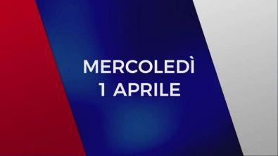 Stasera in Tv sulle reti Mediaset, 1 aprile