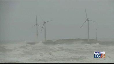 Nord Europa flagellato dal vento