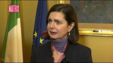 Intervista alla Presidente della Camera Boldrini
