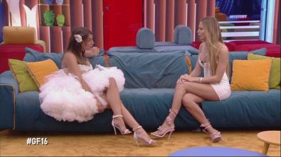 Francesca e Taylor faccia a faccia