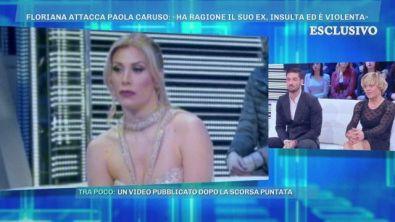 Floriana attacca Paola Caruso