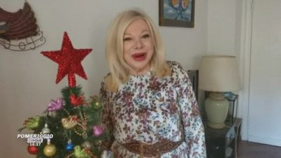 Gli auguri di Natale di Sandra Milo