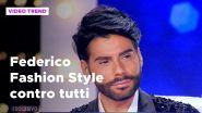Federico Fashion Style, la lite con Antonella Mosetti