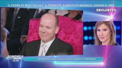 """Marisa, la donna che afferma: """"Il padre di mia figlia è Alberto di Monaco"""""""