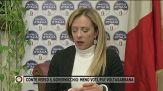 """Giorgia Meloni: """"Altri governi nella stessa situazione si dimisero"""""""