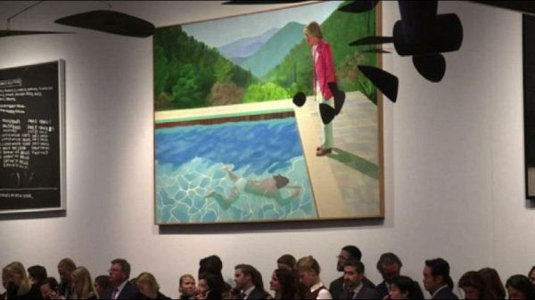 Quadro di Hockney venduto a 90,3 milioni di dollari: un record