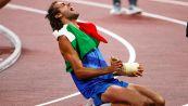 Tamberi oro alle Olimpiadi di Tokyo: cosa significa quel gesso nelle foto