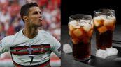 Ronaldo e il gesto contro Coca-Cola: le conseguenze