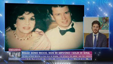"""Xavier Rigau: """"Sono ricco, non mi servono i soldi di Gina"""""""