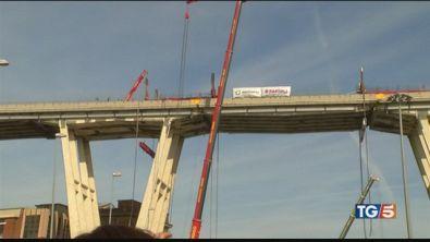Ponte Morandi, inizia oggi la demolizione