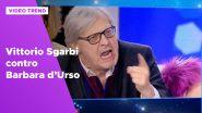 Vittorio Sgarbi contro Barbara d'Urso