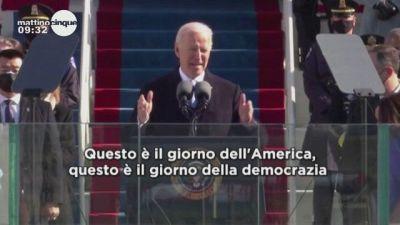 Usa, il giuramento di Joe Biden